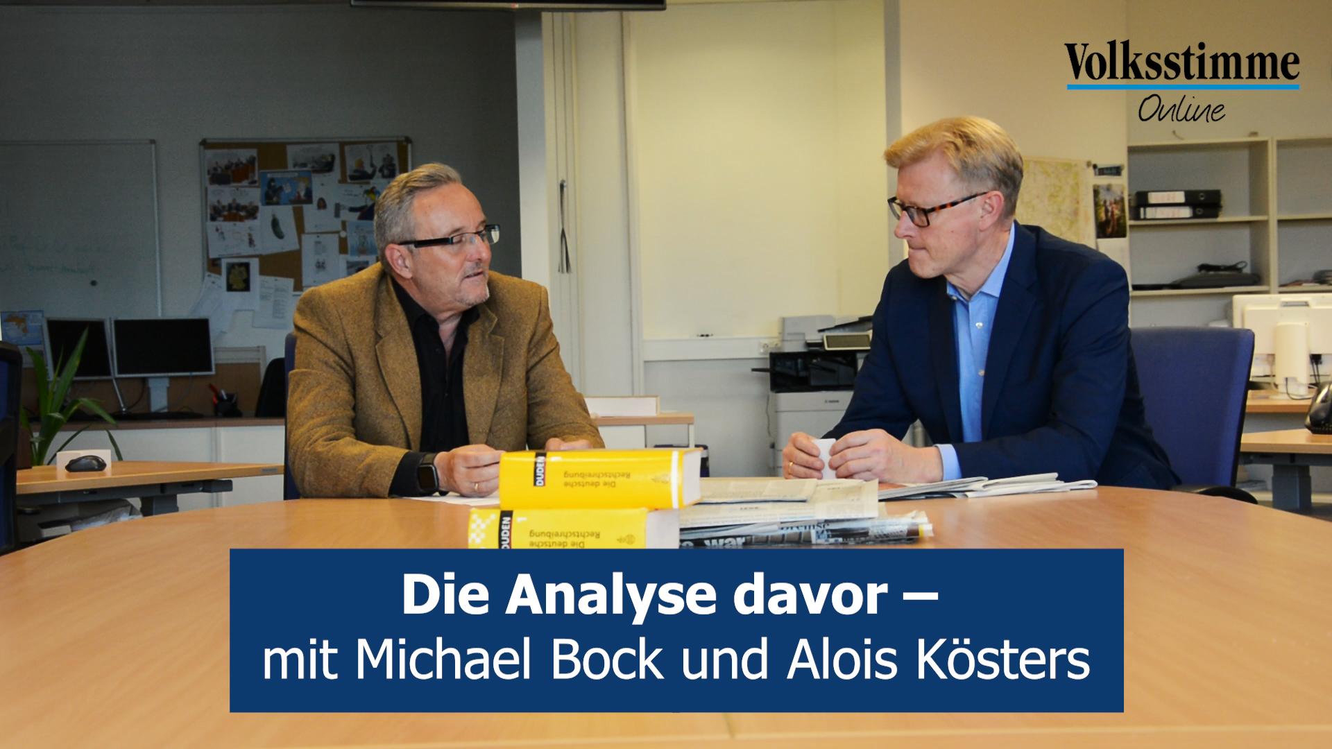 Landtagswahl Sachsen-Anhalt 2021: Die Analyse davor – mit Alois Kösters und Michael Bock